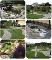 Комплекс ландшафтных услуг - проектирование - озеленение