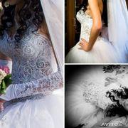 Cвадебное платье в отличном состоянии