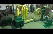 Мини-линия по производству топливных брикетов пиникей