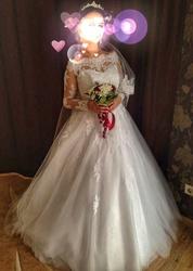 Продам б/у свадебное платье!