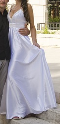 Искрящееся платье To Be Bride в греческом стиле