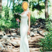 Очень красивое изящное платье