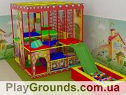 Детские игровые лабиринты для помещений.