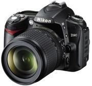 Продам  фотоаппарат Nikon D90 Kit AF-S DX VR